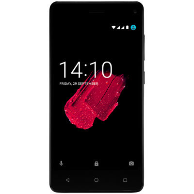 Смартфон Prestigio Grace P5 черный 5 8 Мб GPS 3G сотовый телефон prestigio grace p5 gold psp5515duogold
