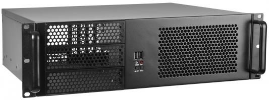 Серверный корпус 3U Exegate 3U390-08 Без БП чёрный (EX264270RUS) серверный корпус 3u aic j3016 01 549 вт чёрный
