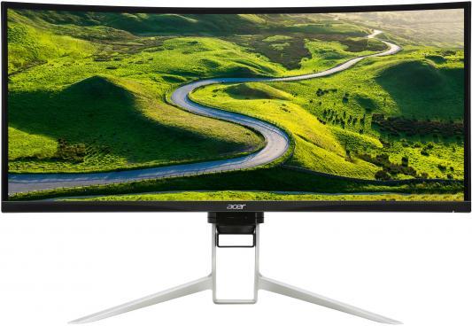 Монитор 38 Acer XR382CQKbmijphuzx черный IPS 3840x1600 300 cd/m^2 5 ms HDMI DisplayPort Mini DisplayPort Аудио USB UM.TX2EE.005 монитор 23 8 philips 240b7qpteb черный ips 1920x1200 300 cd m^2 5 ms hdmi displayport mini displayport vga аудио usb