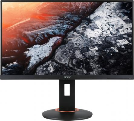 Монитор 25 Acer XF250QAbmiidprzx черный TN 1920x1080 400 cd/m^2 1 ms DVI HDMI DisplayPort USB UM.KX0EE.A01 монитор 28 acer rt280kbmjdpx черный tn 3840x2160 300 cd m^2 1 ms dvi hdmi displayport аудио