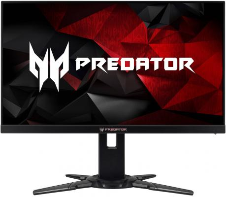 Монитор 27 Acer Predator XB272bmiprzx черный красный TN 1920x1080 400 cd/m^2 1 ms HDMI DisplayPort USB UM.HX2EE.005