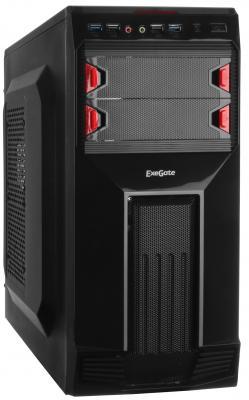 Корпус ATX Exegate AB-224U 350 Вт чёрный (EX261425RUS)