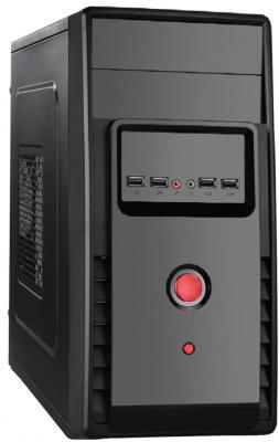 Корпус microATX Exegate BA-119U 350 Вт чёрный EX265171RUS корпус microatx exegate mi 205l 300 вт чёрный серебристый ex249478rus