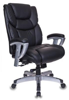 Кресло Бюрократ T-9999/BLACK черный кресло для руководителя бюрократ t 9999 brown