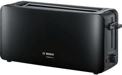Тостер Bosch TAT6A003 чёрный тостер bosch tat8613