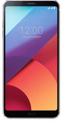 Смартфон LG G6 32 Гб золотистый (LGH870S.ACISGD) смартфон lg q6 32 гб черный lgm700an acisbk