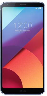 Смартфон LG G6 синий 5.7 32 Гб NFC LTE Wi-Fi GPS 3G LGH870S.ACISBL мобильный телефон lg g flex 2 h959 5 5 13 32 gb 2 gb gps wcdma wifi
