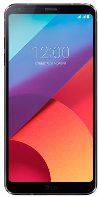 Смартфон LG G6 черный 5.7 32 Гб NFC LTE Wi-Fi GPS 3G LGH870S.ACISBK мобильный телефон lg g flex 2 h959 5 5 13 32 gb 2 gb gps wcdma wifi