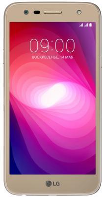 Смартфон LG X power 2 16 Гб золотистый (LGM320.ACISGD) смартфон lg q6a 16 гб платина lgm700 acispl