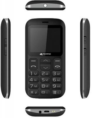 """Мобильный телефон Micromax X608 черный 2.2"""" 32 Мб"""