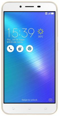Смартфон ASUS ZenFone 3 Max ZC553KL золотистый 5.5 16 Мб 3G GPS Wi-Fi LTE 4G смартфон asus zenfone live zb501kl золотистый 5 32 гб lte wi fi gps 3g 90ak0072 m00140