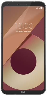 Смартфон LG Q6a 16 Гб черный (LGM700.ACISBK)