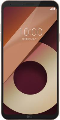 Смартфон LG Q6a золотистый 5.5 16 Гб LTE Wi-Fi GPS LGM700.ACISKG смартфон fly fs523 cirrus 16 lte black