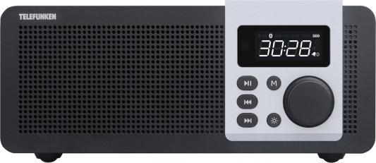 Часы с радиоприёмником Telefunken TF-1583UB темное дерево