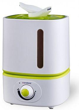 Увлажнитель воздуха ENDEVER Oasis 171 белый зелёный пылесосы endever пылесос