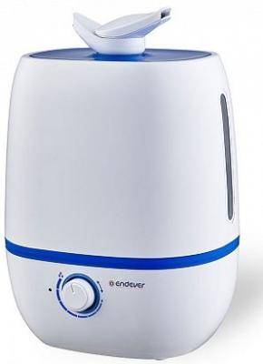 Увлажнитель воздуха ENDEVER Oasis 160 белый синий пылесосы endever пылесос