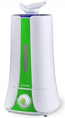 Увлажнитель воздуха ENDEVER Oasis 140 белый зелёный
