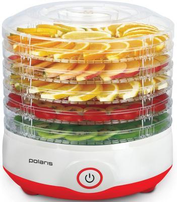Сушилка для овощей и фруктов Polaris PFD 2105D красный белый junlinu белый красный 36