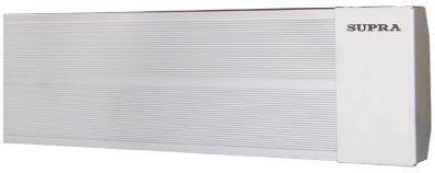 Инфракрасный обогреватель Supra IR 1500 1500 Вт белый инфракрасный обогреватель polaris pmh 1584 1500 вт термостат ручка для переноски чёрный