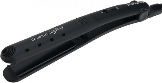 Выпрямитель для волос Polaris PHS2687K чёрный выпрямитель волос braun st570 чёрный