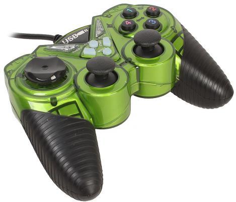 Геймпад 3Cott Single GP-05 зеленый USB
