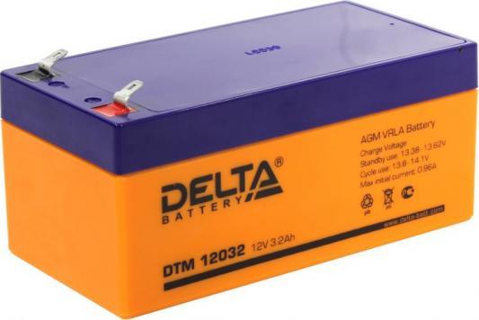 Батарея Delta DTM 12032 3.2Ач 12B батарея delta dtm 1209 12v 8 5ah
