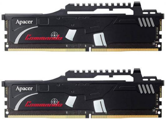 Оперативная память 16Gb (2x8Gb) PC4-19200 2400MHz DDR4 DIMM Apacer EK.16GAT.GEAK2