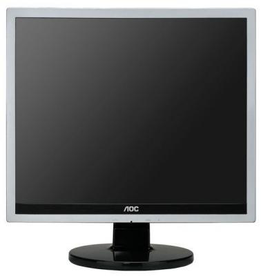 "МОНИТОР 17"" AOC E719SD Silver-Black (LED, LCD, 1280x1024, 5 ms, 170°/160°, 250 cd/m, 20M:1, +DVI)"