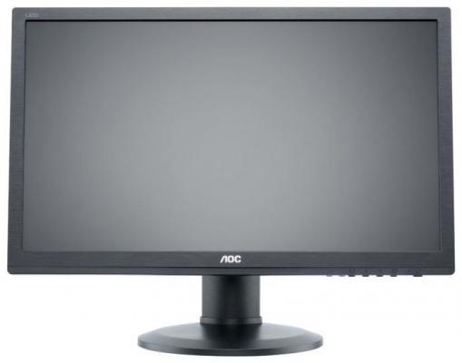 МОНИТОР 24 AOC E2460PHU Black с поворотом экрана (61 cm, LED, 1920x1080, 2 ms, 170°/160°, 250 cd/m, 50M:1, +DVI, +HDMI) 21 5 221b7qpjkeb 00 black с поворотом экрана