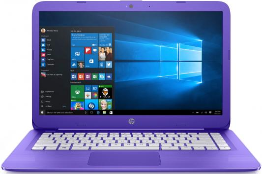 "Ноутбук HP Stream 14-ax016ur 14"" 1366x768 Intel Celeron-N3060 2EQ33EA"