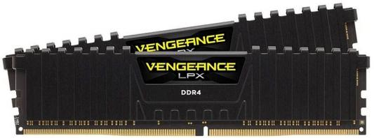 Оперативная память 16Gb (2x8Gb) PC4-19200 2400MHz DDR4 DIMM Corsair CMK16GX4M2D2400C14