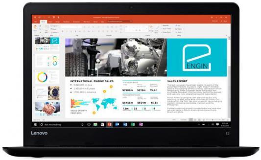 Ноутбук Lenovo ThinkPad 13 13.3 1366x768 Intel Core i5-7200U 20J1000ART ноутбук lenovo thinkpad 13 13 3 1920x1080 intel core i5 7200u 20j1003trt