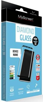 Пленка защитная lamel 3D закаленное защитное стекло MyScreen 3D DIAMOND Glass EA Kit Black iPhone 8
