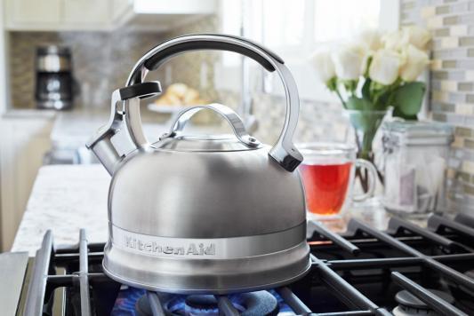 Чайник KitchenAid KTST20SBST серебристый 1.9 л нержавеющая сталь от 123.ru
