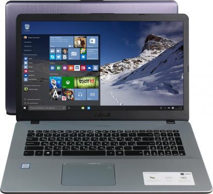 Ноутбук ASUS VivoBook Pro N705UD-GC173T 17.3 1920x1080 Intel Core i7-8550U 90NB0GA1-M02550 ноутбук asus rog gl753vd gc140 17 3 1920x1080 intel core i7 7700hq