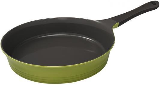 Сковорода Frybest Oliva Oliva-F24I круглая 24см ручка несъемная (без крышки) оливковый сковорода нмп невская 24см 2473н