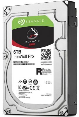 Жесткий диск 3.5 6 Tb 7200rpm 256Mb cache Seagate Ironwolf Pro SATAIII ST6000NE0023 жесткий диск 3 5 8tb 7200rpm seagate ironwolf sataiii st8000vn0022