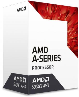 Процессор AMD A6-9500 AD9500AGABBOX Socket AM4 BOX процессор amd a4 4000 ad4000okhlbox socket fm2 box