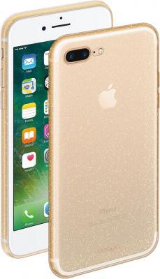 Фото - Накладка Deppa Chic для iPhone 7 Plus iPhone 8 Plus золотой 85300 накладка lp клетка с полосками для iphone 7 золотой 0l 00029551