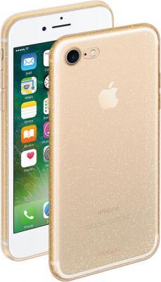Фото - Накладка Deppa Chic для iPhone 8 iPhone 7 золотой 85297 накладка lp клетка с полосками для iphone 7 золотой 0l 00029551