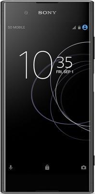 Смартфон SONY Xperia XA1 Plus Dual 32 Гб черный (1310-4467) смартфон sony g3412 xperia xa1 plus dual 32gb gold