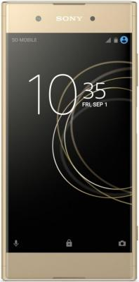 Смартфон SONY Xperia XA1 Plus Dual 32 Гб золотистый (1310-4466) процессор intel core i9 7900x 3 3ghz 10mb socket 2066 oem