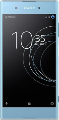 Смартфон SONY Xperia XA1 Plus Dual голубой 5.5 32 Гб NFC LTE Wi-Fi GPS 3G 1310-4468 смартфон sony g3412 xperia xa1 plus dual 32gb gold