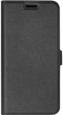 Чехол-книжка DF iFlip-02 для iPhone X чёрный чехол книжка voia для lg k8 2017 x240 pc pu чёрный