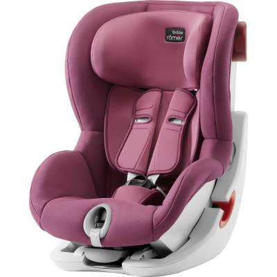 Автокресло Britax Romer King II (wine rose trendline) детское автокресло king ii ls wine rose trendline