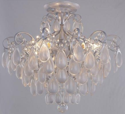 Потолочная люстра Crystal Lux Sevilia PL4 Silver люстра crystal lux fontain sp8