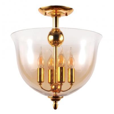 Потолочный светильник Crystal Lux Atlas PL4 Gold crystal lux atlas pl4 gold
