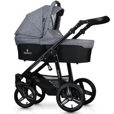 Коляска 2-в-1 Venicci Soft (denim grey) коляска venicci 2 в 1 pure denim grey 019676