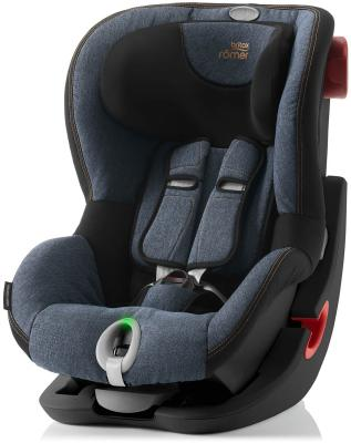 Автокресло Britax Romer King II LS Black Series (blue marble) автокресло britax romer king ii black series moonlight blue