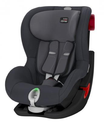 Автокресло Britax Romer King II LS Black Series (storm grey trendline) автокресло группа 1 9 18кг britax roemer king ii ls black series moonlight blue